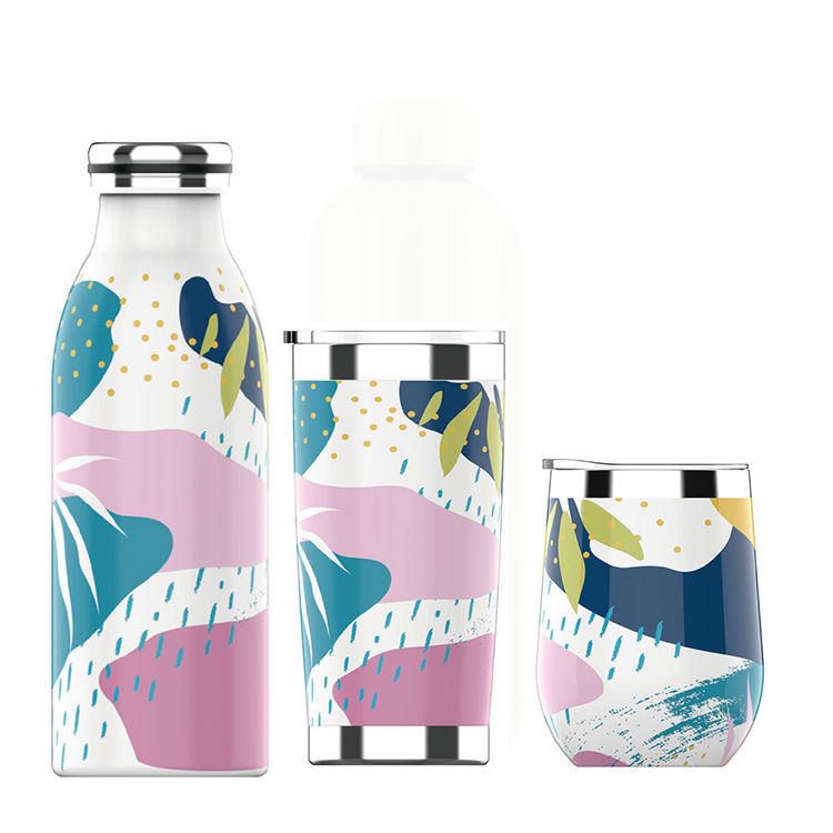 Portable Cute Cartoon Animal Shape Cup Travel Drinking Water Bottle VILR