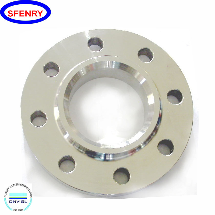 Sfenry DN25 DN50 DN100 DN150 DN200 304 316 316L Stainless Steel Slip On Flanges