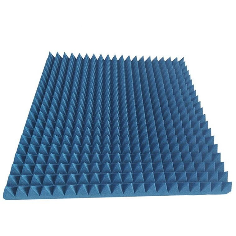 Resist wear foam pyramid microwave absorber for anechoic chamber