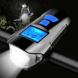 Professional multifunctional rechargeable bike led light bicycle headlight
