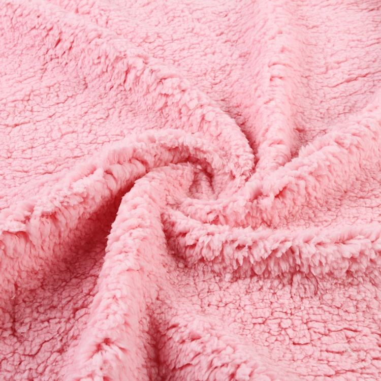 100% Polyester broad-spectrum fleece customized high quality thick fabric
