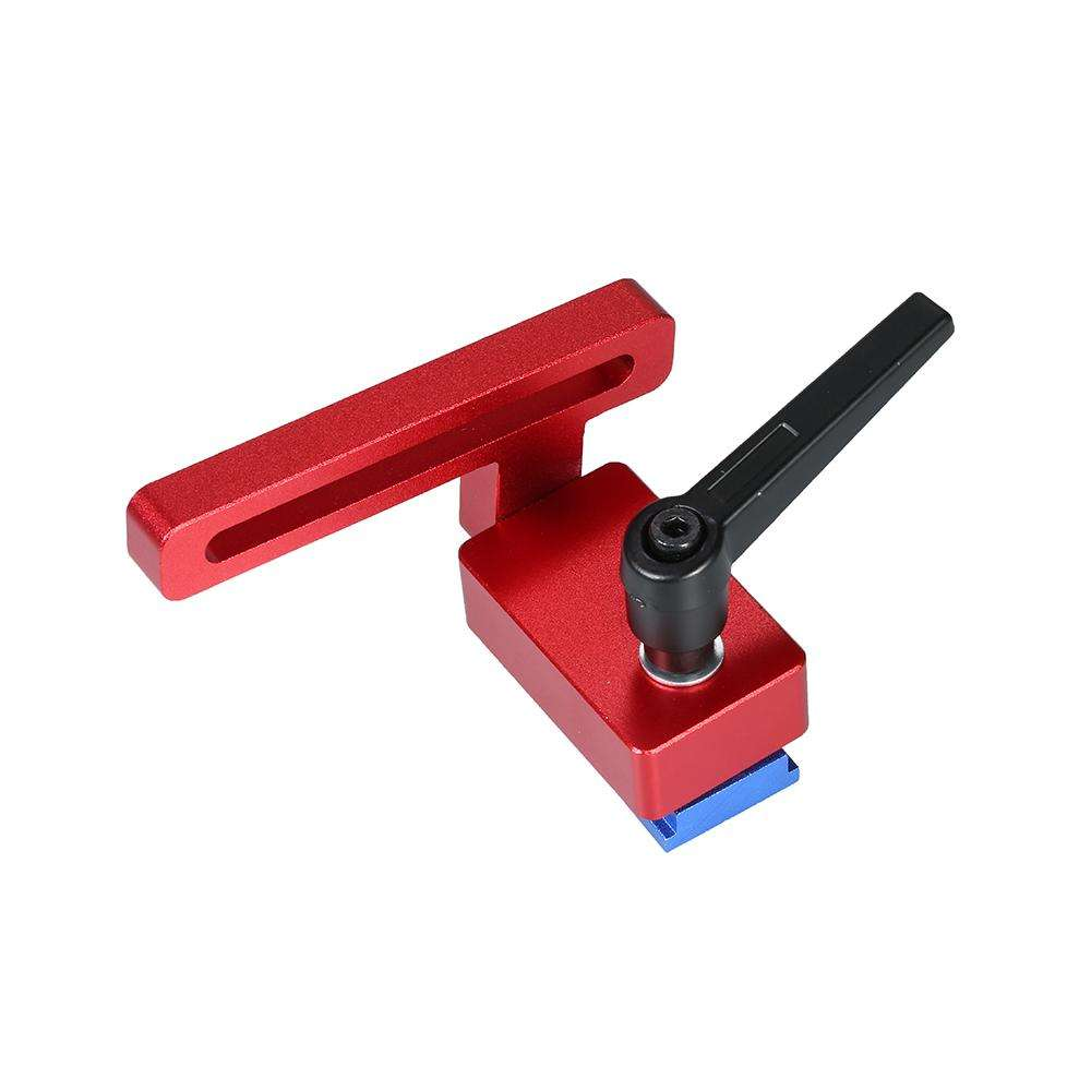 30 type Aluminum alloy T-tracks Woodworking Tool Miter Track Stop Chute Stopper for Woodworking Workbench