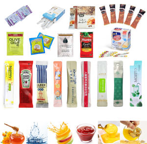 Automatische Multi-funktion Stick Pack Sesam Sauce Sirup Öl Honig Eis Popsicle Tomaten Ketchup Beutel Verpackung Maschine