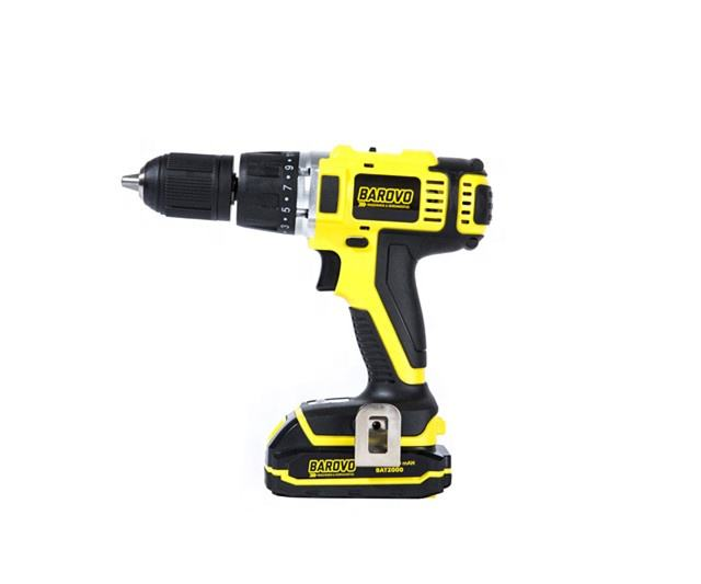 18V Custom High Quality Lithium Battery Tools 19+3 Torque Clutch Impact Cordless Hammer Drill