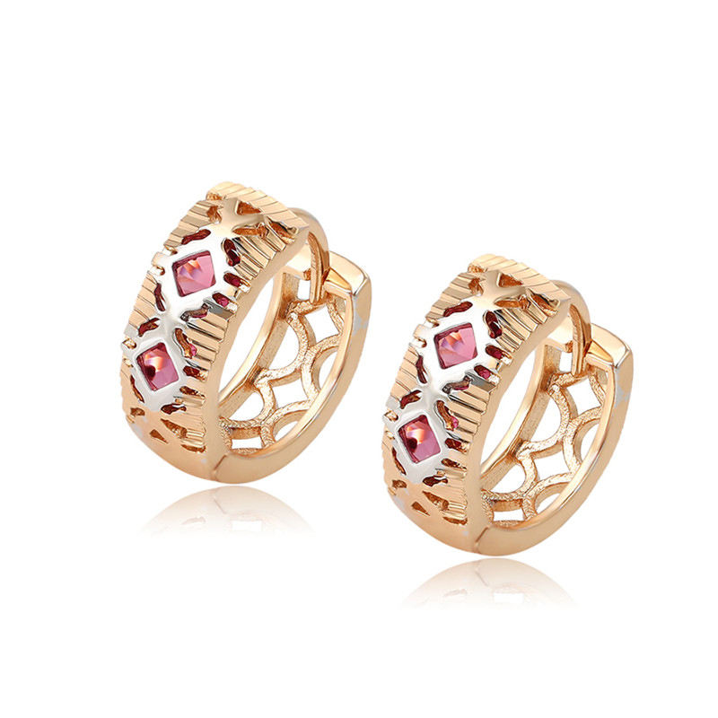 98996 Xuping Jewelry classical cheap ear rings+designer alloy earrings for cute girls