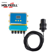 Holykell 4-20ma rs485 liquid ultrasonic water level measuring sensor
