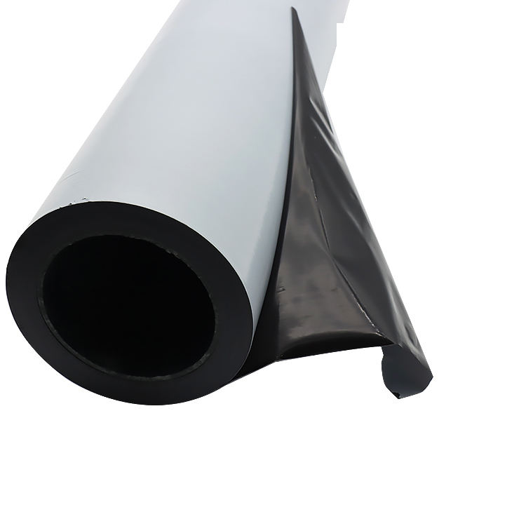 Black And White Protection Film Pe Plastic White Black Protective Film