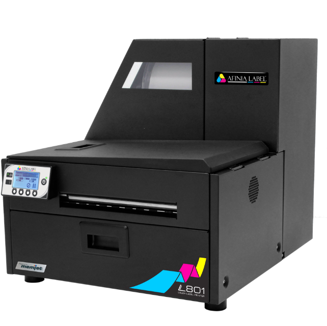 low ink cost Afinia L801 memjet commercial Industrial Color Label Printer with glossy matte inkjet label