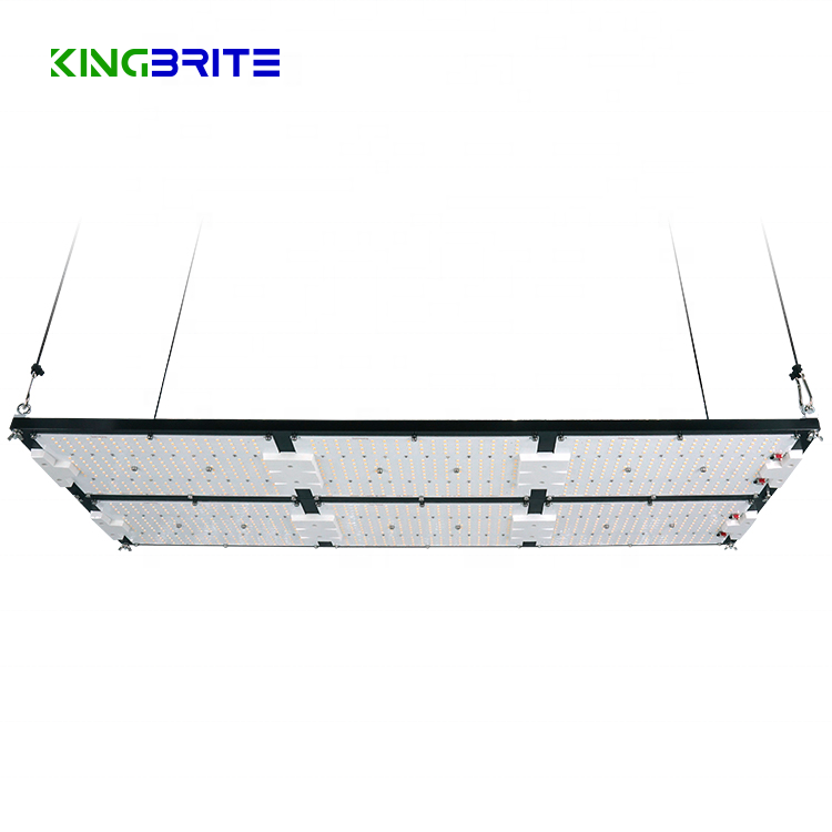 2021 Newest Full spectrum Kingbrite 600W QB288 V4 lm301h mix cree 660nm UV IR Led Plant Grow Light for Indoor plants