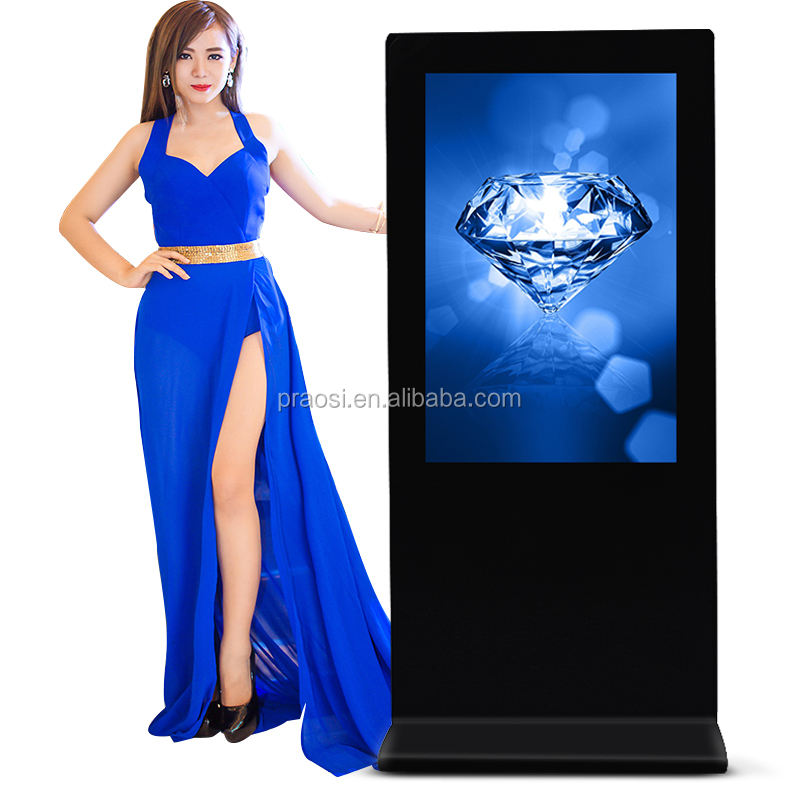 Hot Jual Desktop 800*1280 Memori Internal IPS Vertikal Digital Photo Frame 8 Inci Logam untuk Promosi