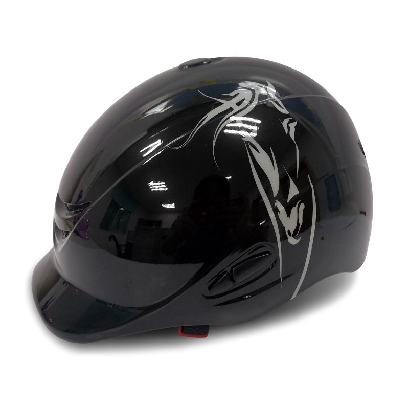 GRILL Exclusive Ridding Helmet Grill Helmet POLO HELMET WITH VIZER,FACE GUARD