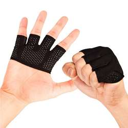 Gym Fitness Half Finger Gloves Men Women for Crossfit Workout Glove Power Weight Lifting Bodybuilding Hand Protector
