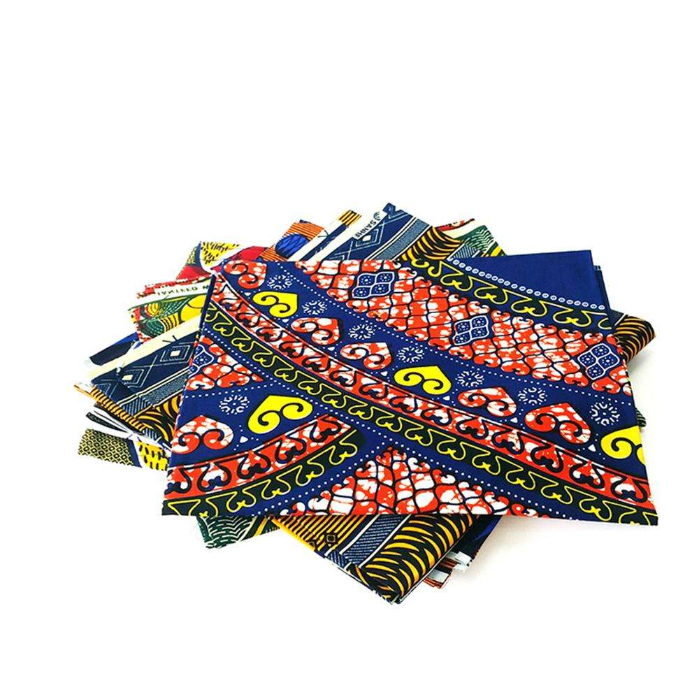 20 QC staffs ensure the quality Multicolor african kente wax fabric