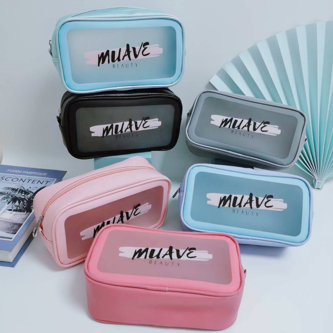Reizen Transparante Pvc Wc Cosmetische Bag Clear Make Up Pouch