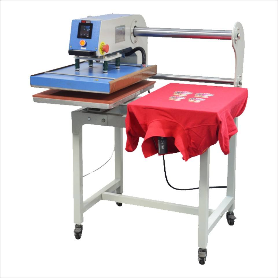 1 Year Warranty [ Printing Machine T Shirt ] Up Sliding Pneumatic Heat Press Transfer Printing Machine 40x60 60x80cm Industrial Garment Press Machine T Shirt