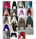 Women's Colors Plus Size Winter Hooded Warm Fuzzy Fur Coats Women's Sehe Fashion
