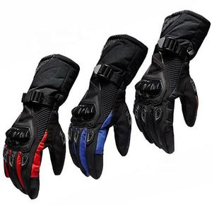 Autumn Winter Windproof Cold-proof Outdoor Custom Sport Climbing Riding Racing Motorcycle Gloves