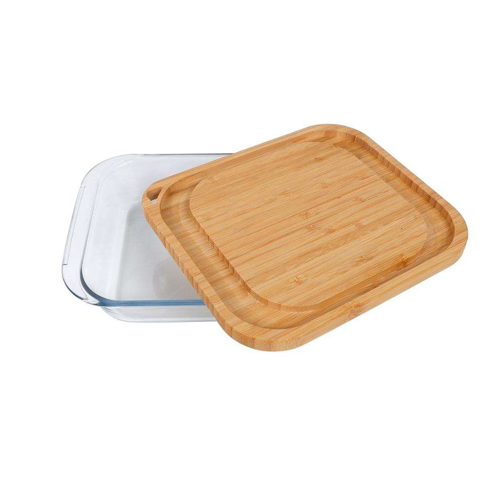 Glass bakeware glass pie panbakeware setwith high quality