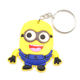 Custom Logo 3D Soft PVC Rubber Bicycle Keychain