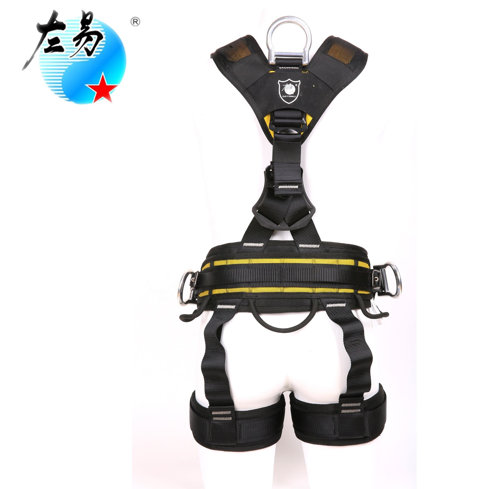 Mendaki Industri Retractable Jatuh 5-Point Lineman Shock Absorber China Listrik Safety Harness
