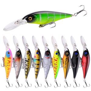 Fishing Bait Lure Hard 10g 11cm Artificial Bait Lure Fishing Tackle Fishing Lures Minnow Wobblers