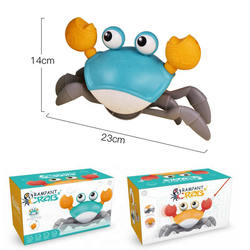 Hot Sale Bath Toys Big Crab Clockwork Baby Infant Water Classic Toy Beach Toys