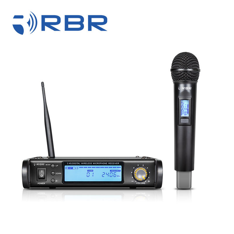 Chinese Supplier bm2407 2.4GHz Wireless Microphone