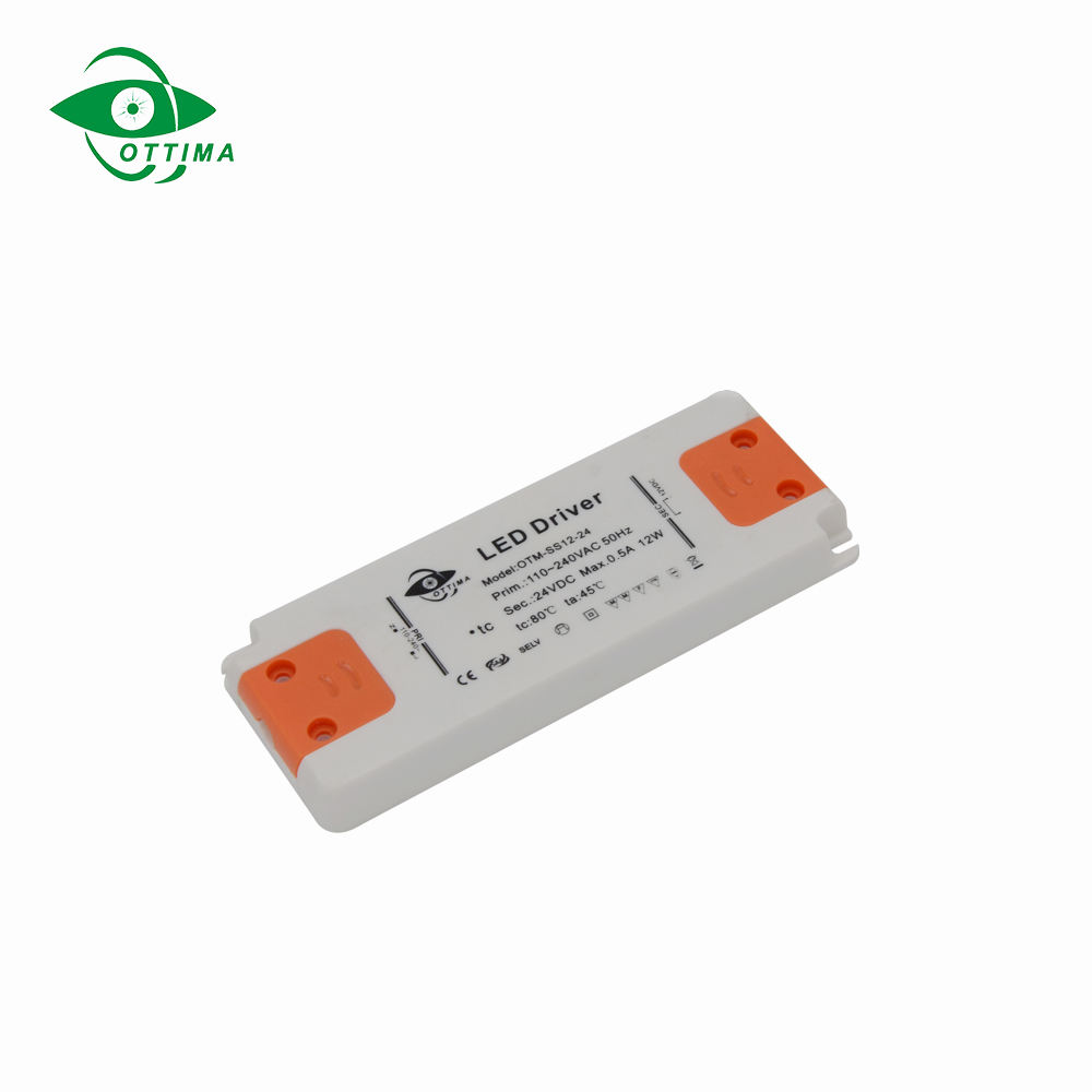 led driver manufacture ce saa etl rohs dc adjustable power supply constant voltage ultra thin mini size slimline led driver