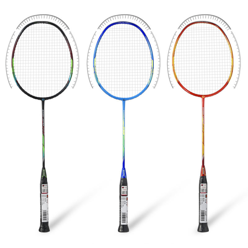 WHIZZ Wholesale Y56 protector innovative design carbon fiber badminton racket