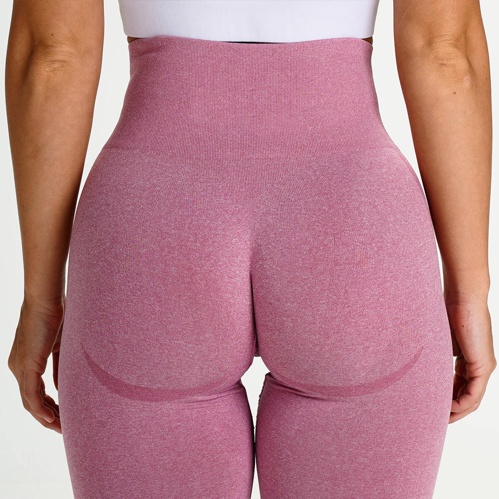 High Waisted Contour Womens Butt lift Workout Fitness Gym Sports Yoga Wear Seamless Tights Pants leggings
