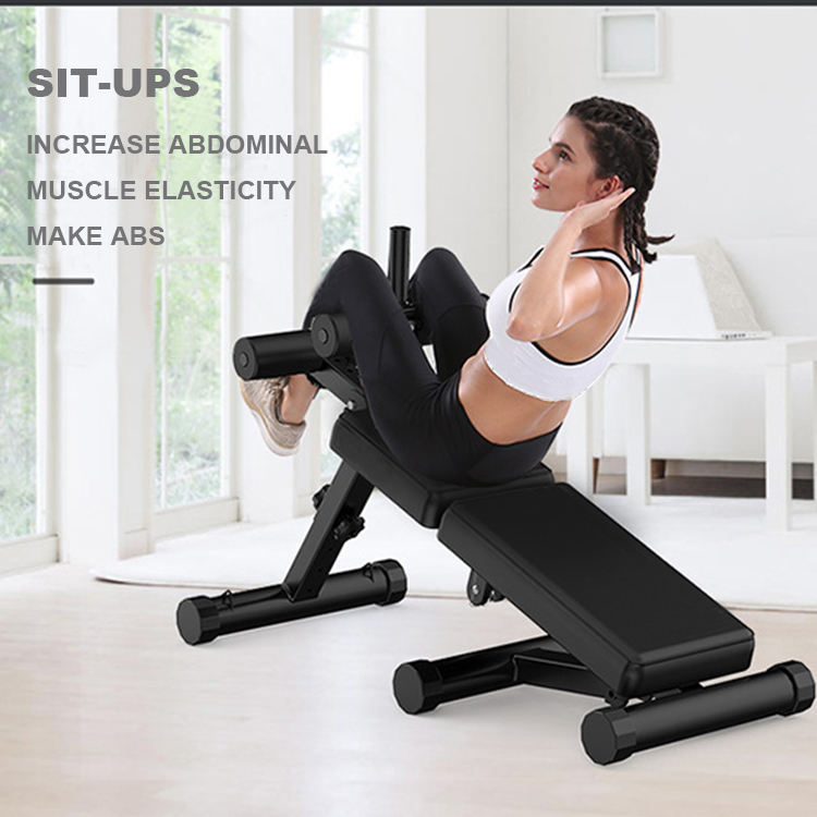 Adjustable Workout body fitness ajustable bench weight bench gym equipment foldable bench