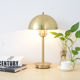 Contemporary home decorative table lamp made in china indoor bedside table led lights gold metal desk lamp LED table lamp