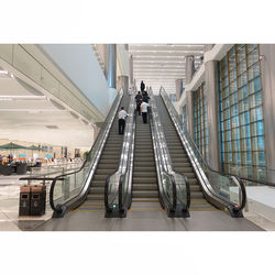 35 degree 0.5m/s VVVF drive outdoor or indoor mall subway escalator