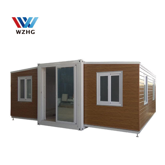 Casas prefabricadas Modular expandable prefabhouses Export Prefab Building And Containers Office ,Flat Plat pack container