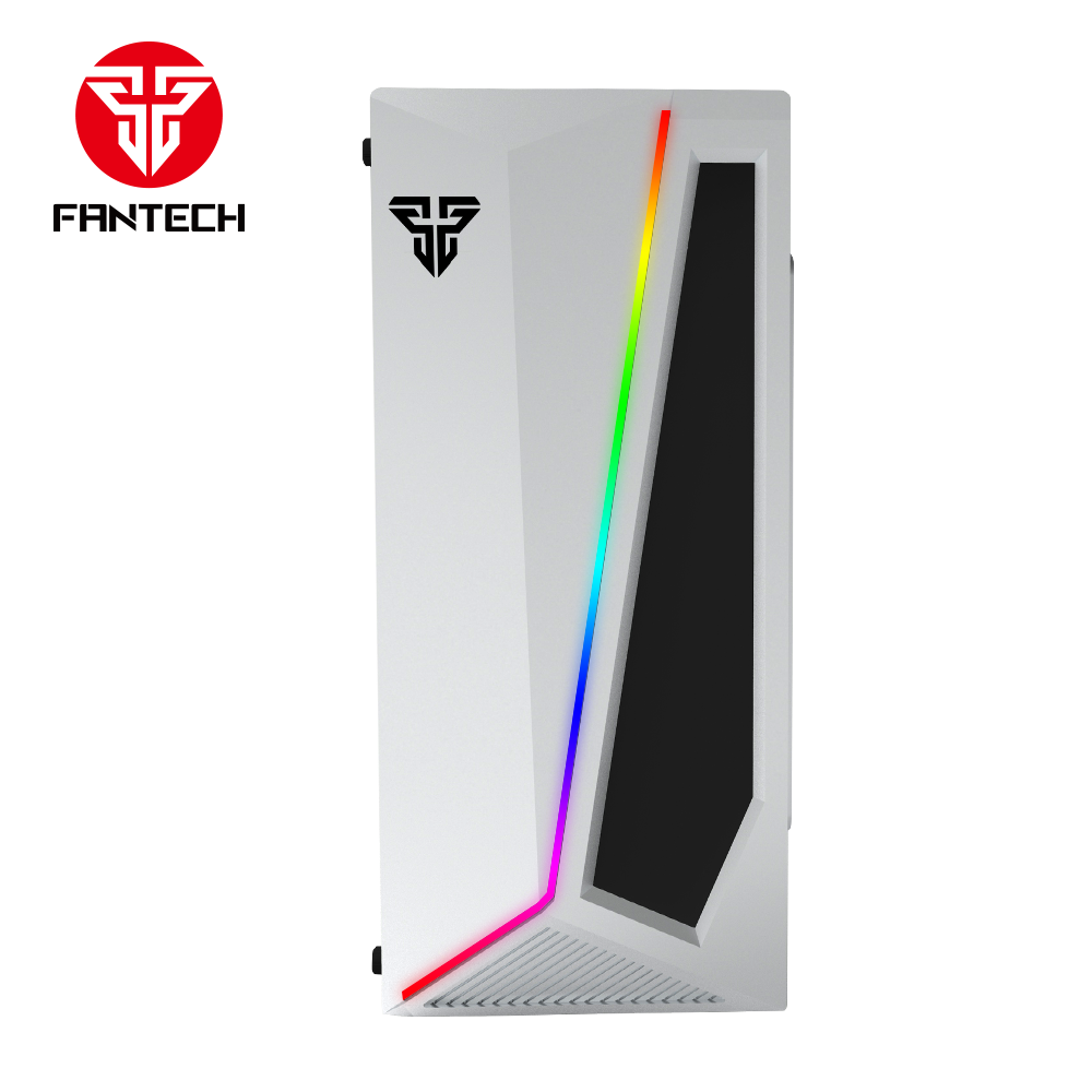 Fantech New Arrival High Quality PC Gaming Case CG71 With RGB Lighting ATX Middle Tower Computer PC Case