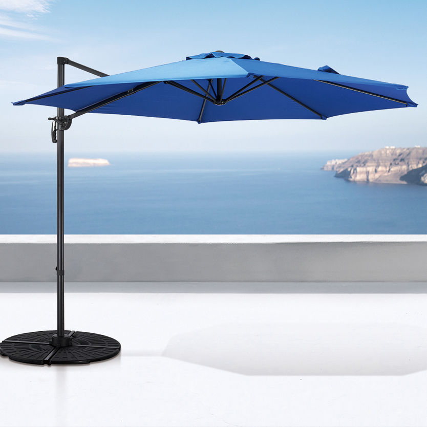 wholesale high quality heavy duty outdoor garden grassland patio umbrella parasol swimming pool steel frame