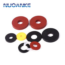 High Quality NBR FKM EPDM Silicone Round Flat Rubber Gasket Flat Ring Gasket Seals Flat Rubber Washer Spacer O Ring