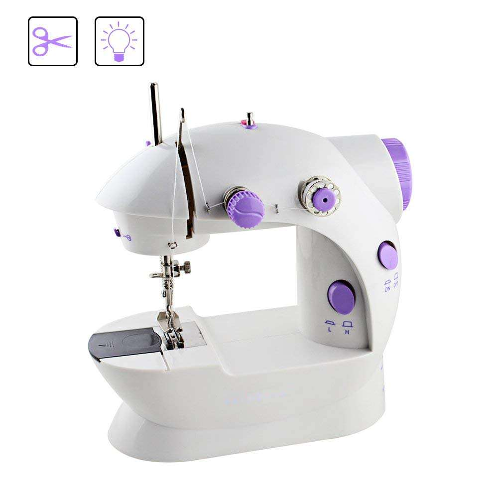 TOPFENG MINI simple on/off control button Straight line sewing , easy to operate light weight, compact and portable