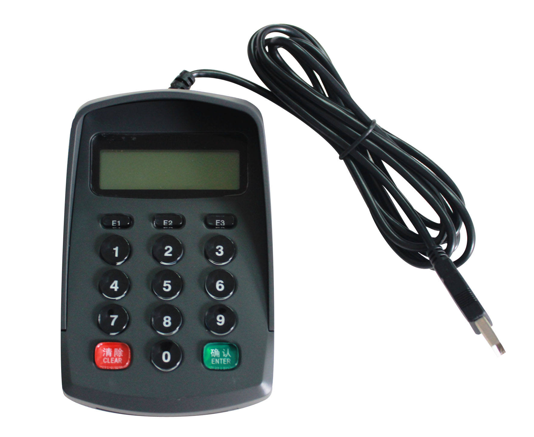 OEM Manufacturer Rs232 Programmable Mini Digital Pos Number Keypad With Display