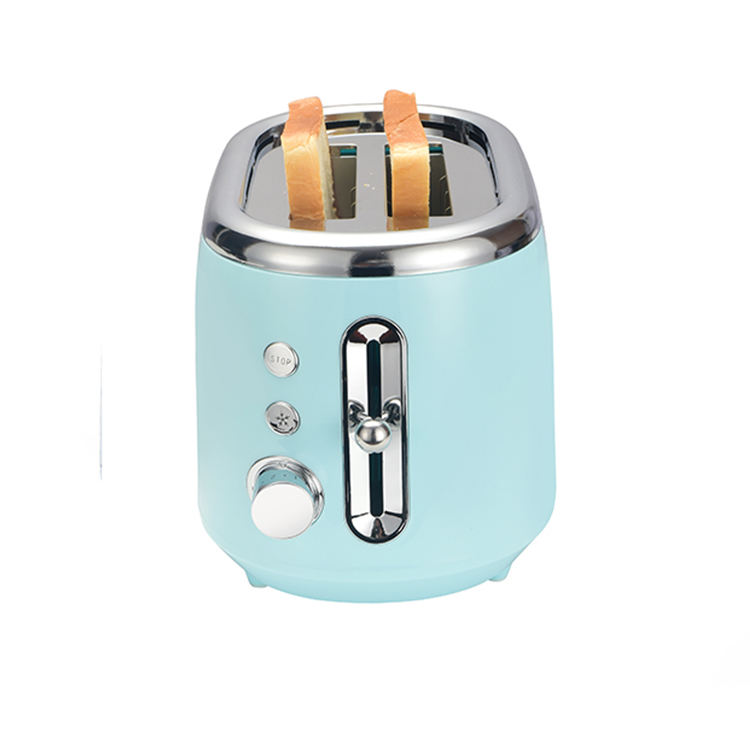 Electric Bread Toaster 2020 Unique Design 2 Slices Stainless Steel Electric Commerical Bread Toaster