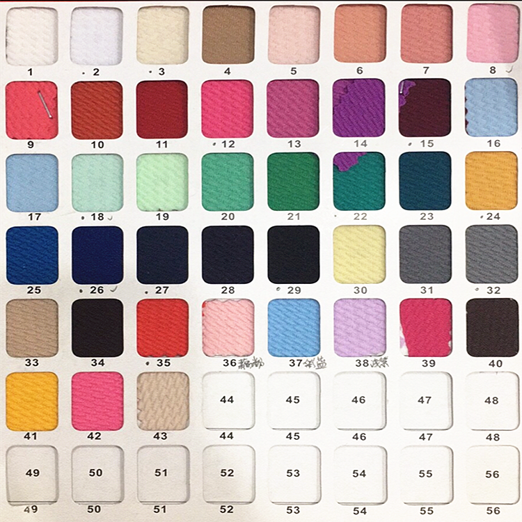 In stock bullet texture fabric knit solid colors jacquard fabric for headwrap