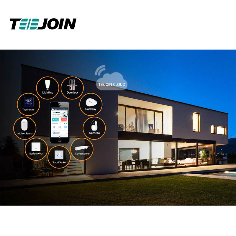 Teejoin Alexa Zigbee Smart Home Automation System Domotica Products Device Smart House