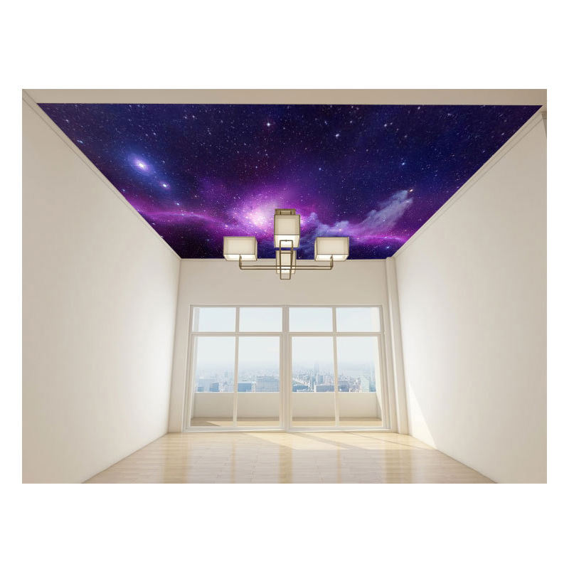 New style panel 3d ceiling wallpaper 3d wall paper designs room decorative wallcovering