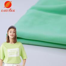 China Fabric Textiles Wholesale Plain Dyed 40*40 tela Woven 100% Spun Viscose Rayon Fabric for Dress and Shirt