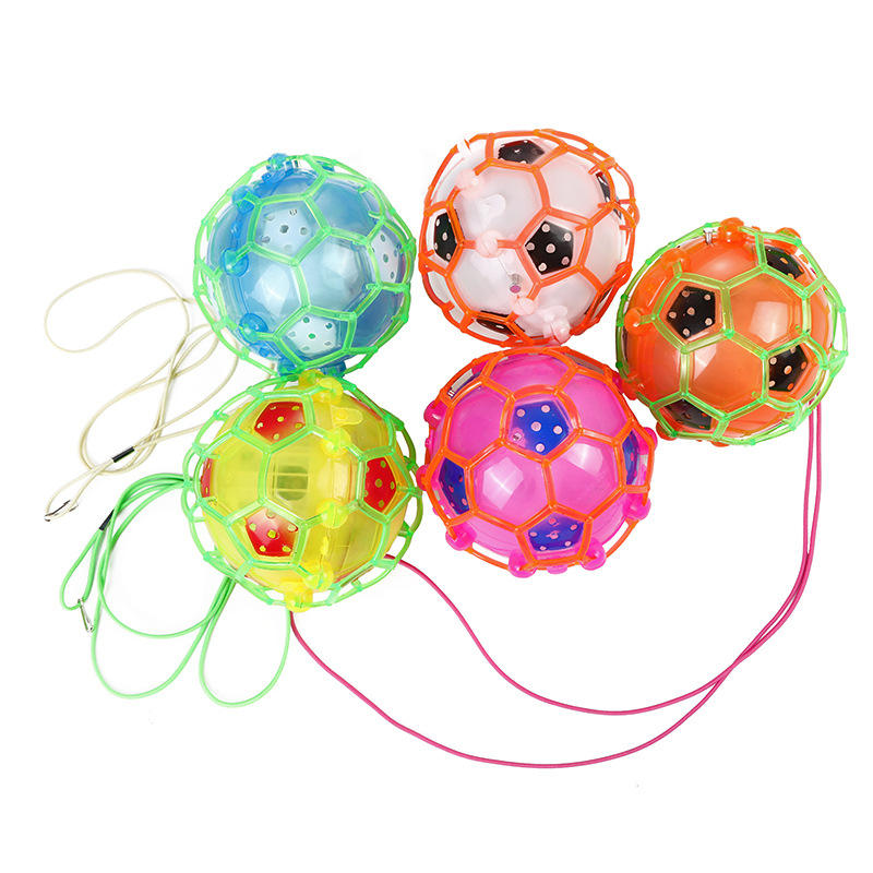 Novelty toys Light-Up Jumping Ball LED Self Bouncing Hippity Jumper Power Flashing and blinking Toy Ball