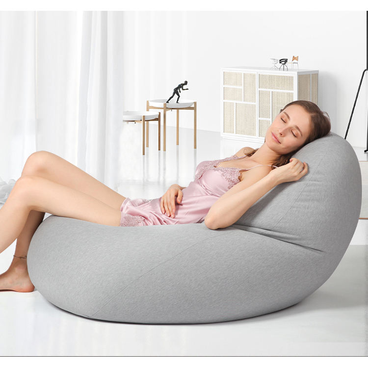 Luckysac Multiple Posture Family Living Room Sofa Relax Modern Bean Bag Chair