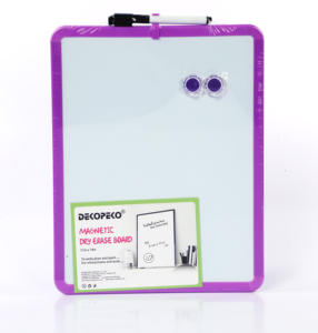 mini student high quality magnetic kids fridge dry erase white board