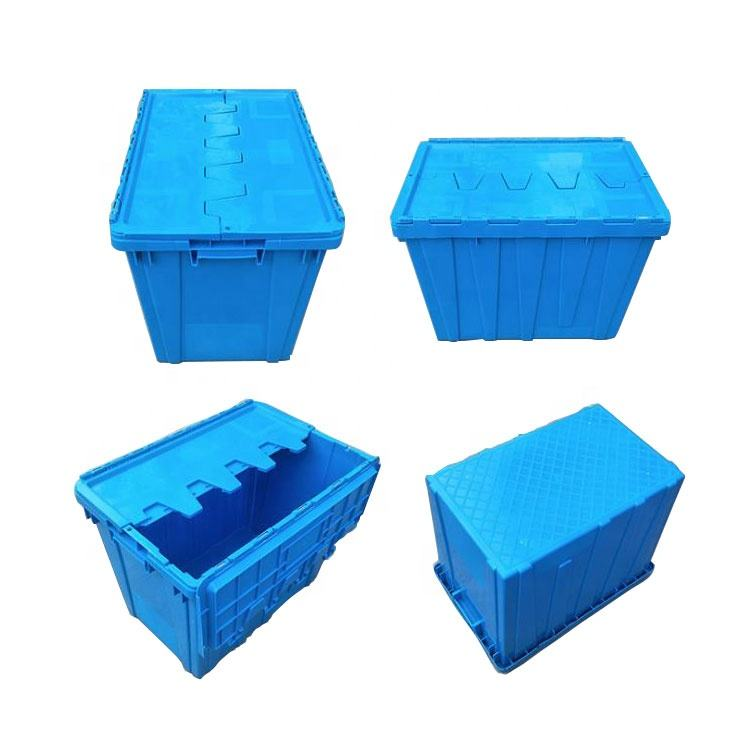 High Quality Heavy Duty Stackable Crates, More Popular With Good Price Logistic Plastic Crates/