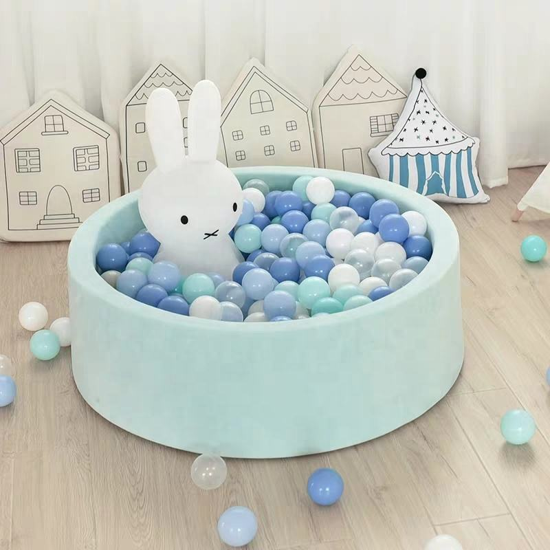 The Newest Custom Colorful Kids Ocean Soft Play Ball Pit Pool Indoor Soft Play Equipment For Sale