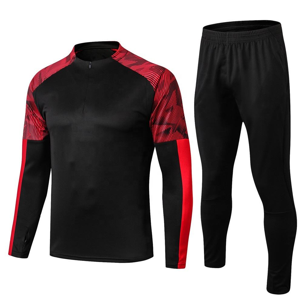 Men Soccer Jersey Sets Adult Futbol Training Uniforms set survetement Football Kits Maillot De Foot Jersey shorts